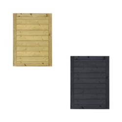 KLINK Portillon de jardin en bois 100x125cm