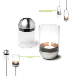 GRAVITY CANDLE M90  Lanterne design