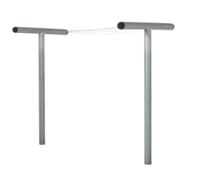 Etendoir à linge fait en acier 520cm de long, 130cm de largeur, 200cm de hauteur