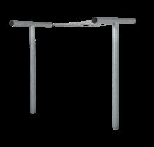 Wasdroogrek van staal 520cm lang, 130cm breed, 200cm hoog