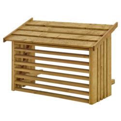 Airco casing - pressure treated wood