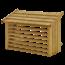 Plus Danemark Cache de climatisation / pompe à chaleur en bois traité sous pression- différentes couleurs - 96x56x57cm