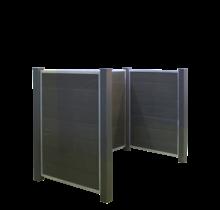 FUTURA Wheelie Bin Storage Concrete Casting 198x127x108cm