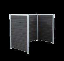 ARTURA container ombouw van HKC en staal om in beton te verankeren - 189x99x142cm
