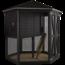 Plus Danemark Complete chicken coop made of wood 6-sided - Black