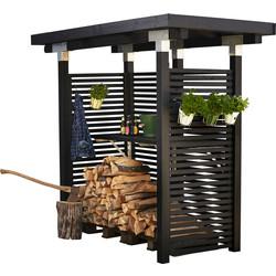 Firewood storage 248x126x210cm - CUBIC