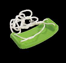 Siège de balançoire rouge ou vert, sans accessoires