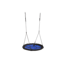 Nest swing in blue-black, without accessories