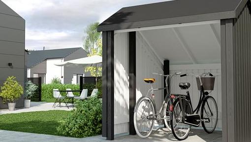 Storage sheds & garages