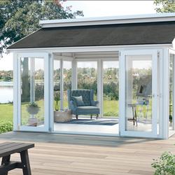 Tuinhuis met ramen, deur & optie vloer