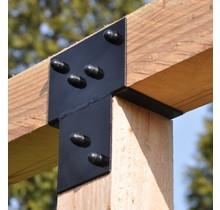 3-way extension bracket for pergola 85x85mm - GARVIKS