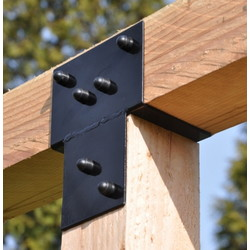 3-way extension bracket for pergola