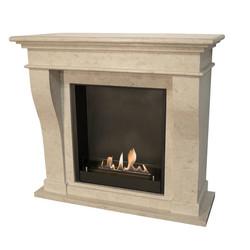 Kreta Fireplace - 120x54x110cm