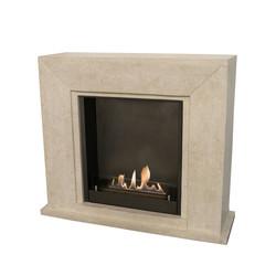 Manteau de cheminée Nero - 119,5x36x101,5cm