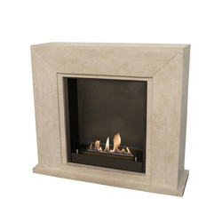 Nero Fireplace -black or white- 1015x1195x360mm