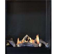 Xaralyn bio ethanol fireplace insert Large with ceramic burner 5820B