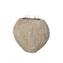 Décoration avec insert Bioéthanol - Shigo - 90x40x85cm