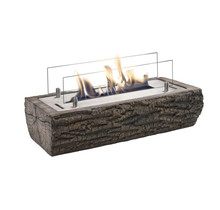 Woody Tablefire - wood look - bio-ethanol - 125x495x230mm