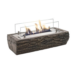 Woody Fireplace - 125x495x230mm