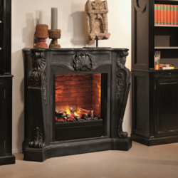 Louis Fireplace - 118x48,5x111cm