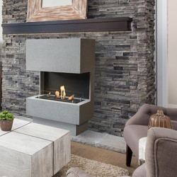 Nuoro Fireplace - 1195x760x350mm