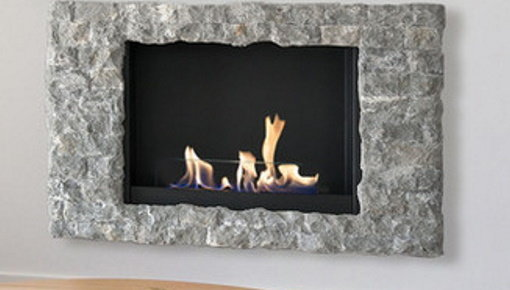 Wall mounted fireplace - electric or ethanol
