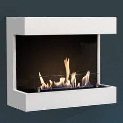 Umbria Wall fireplace - 65x74x34cm