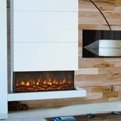 Disegno 3D LED wall fireplace XL - 114cm wide