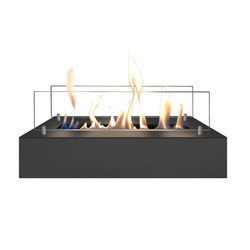 Brûleur bio-éthanol M - 8x40.5x20cm