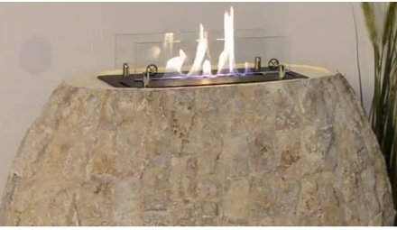 Decorative fireplaces & objects
