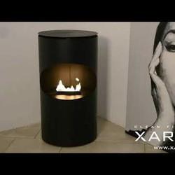 Silo Fireplace - bioethanol - 85x45x45cm