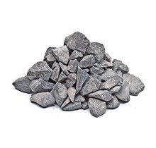 Decorative Basalt Split Grey 4kg - for bio ethanol or electric fireplaces