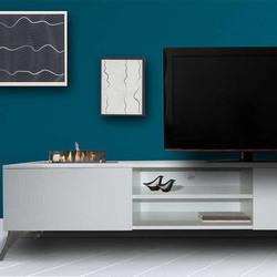 Meuble télé avec insert - Elin - 180x44,5x45cm