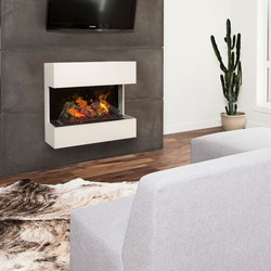 Lucca Wall fireplace - 70x74x34cm