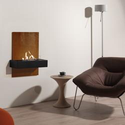 Quero Wall fireplace - 75x60x34cm