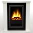 Glen Dimplex Dimplex Optiflame® Mozart de Luxe white electric fireplace