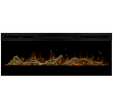 Driftwood riverrock pour Dimplex IGNITE : jeu de buche en bois réel flotté et son lit de galets de rivière
