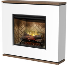 STRATA Revillusion Freestanding Electric Fireplace with 2 Heat Outputs