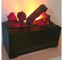 DIMPLEX Cassette 400 Foyer noir encastrable universel électrique Opti-myst® imitation buches et fumée réelle
