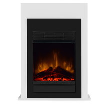 BELLINI Optiflame Freestanding Electric Fireplace with 2 Heat Outputs