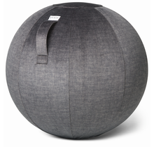 VLUV VARM Ø60-65cm ergonomische zitbal, yoga, pilates en fitness bal