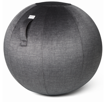 VLUV VARM Ø70-75cm ergonomische zitbal, yoga, pilates en fitness bal