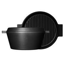 Morso Cocotte Dutch oven 3,5lt Ø28cm gietijzeren grill, braad en stoofpan