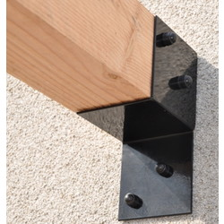 Wall bracket for pergola 145x145mm Garviks