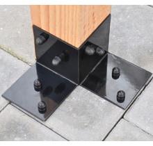 Floor bracket for pergola 115x115mm Garviks