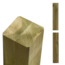 Plus Danemark Timber post 9x9cm - cross section laminated and pressure treated - max 500cm