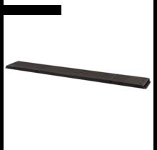 1 plank houtcomposiet kleur antraciet 60 of 120cm