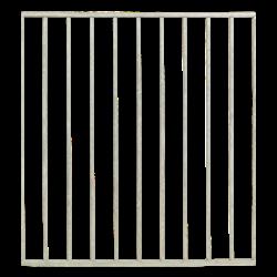 BASIC balcon- tuinhek 90x98cm