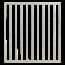 Plus Danemark BASIC Steel balcony or garden fence with bars 90x98cm