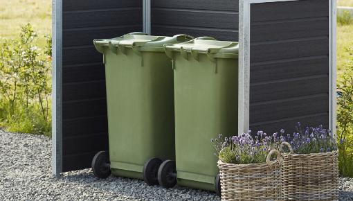 Container ombouw - een nette ruimte voor uw containers